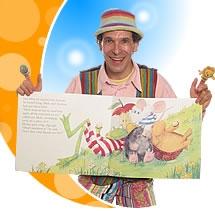 Children's story-teller london for schools, nurseries & birthday parties