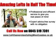 Loft conversions ealing 0845 519 7391