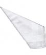 12 Mens White Satin Cotton Handkerchiefs 16 inch x 16 inch