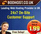 Cheap and affordable uk web hosting services provided by bodhostuk