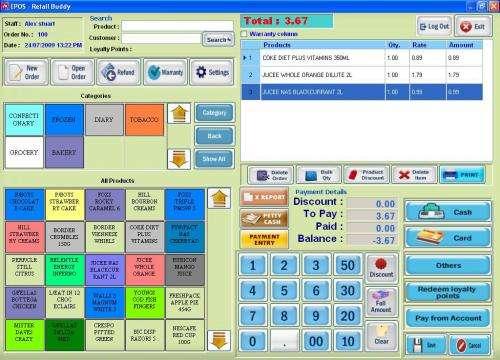 Retail epos software | retail software | till software