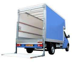 2 men and luton van with tail-lift £35 hour call 07951 355 190