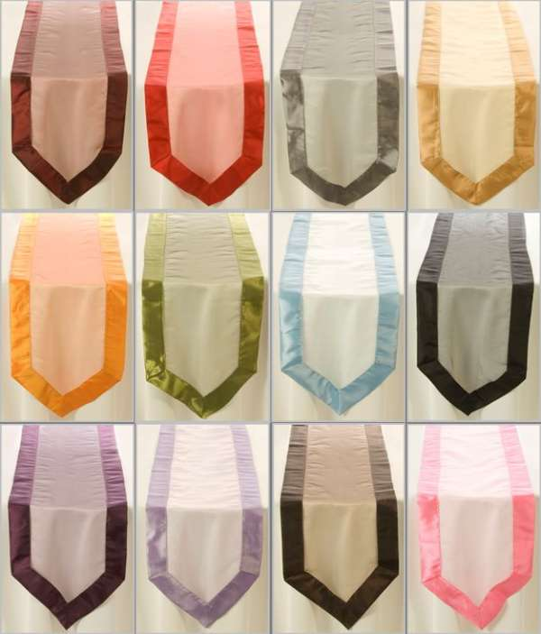 Table runners linen - hospitality, weddings, corporate events