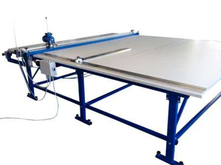 Cutting table for roller blinds uk-1 max