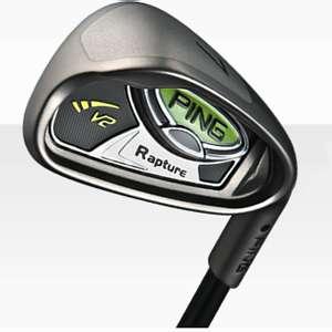 Cheap sale high launch ping rapture v2 black dot irons 3-9ps