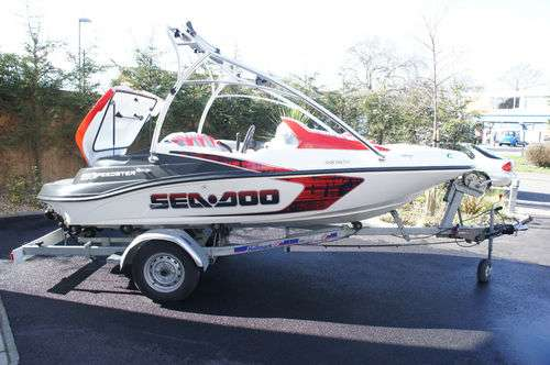 2008 seadoo speedster 150 215 bhp,supercharged,wake edition jet boat.