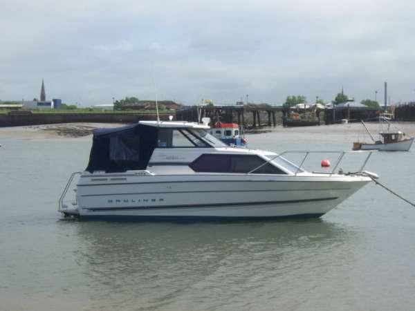 Bayliner cierra express classic 2452 power fishing speed boat