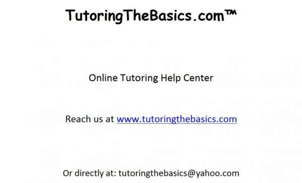 Low cost high quality online tutoring
