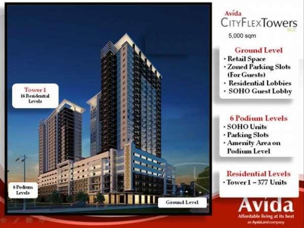 Pictures of Condo for sale: avida cityflex towers bgc 6