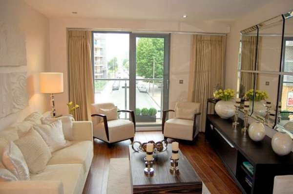 Get modern furnished luxury1 bedroom flat for rent in aqua vista e3, canary wharf