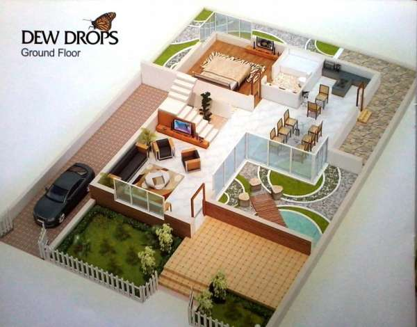 Pictures of 3 bhk exclusive homes for sale in beautiful city of igatpuri 4