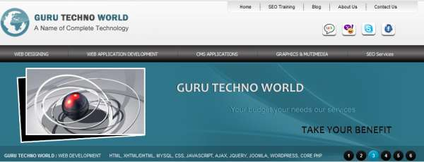 Guru techno world pvt ltd. provides the seo services where you get the top ranking of your