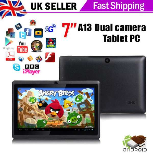 Maxtouuch dual camera 7 inch tablet pc android 4.0 capacitive wifi 3g skype bbc iplayer