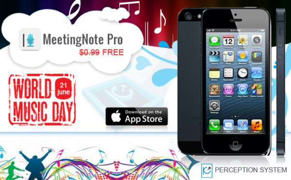 Meetingnotepro ? a popular iphone app now available free for limited time