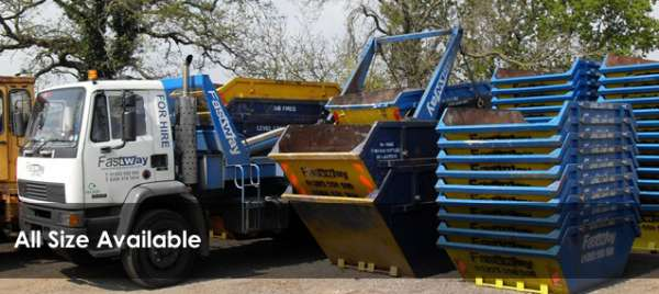 Surrey skip hire in london - fastway