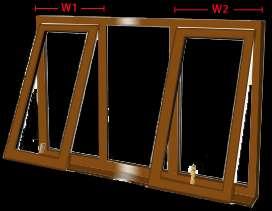 Order windows get 5% off on bi folds