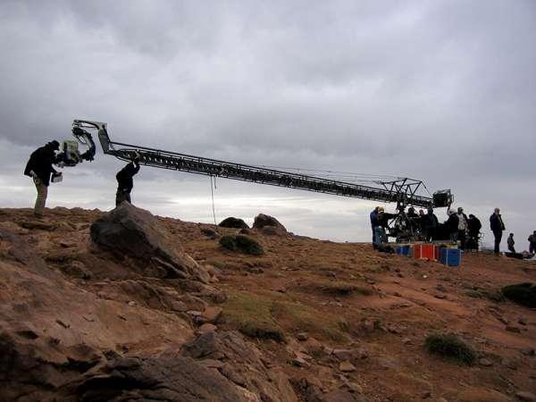 Lenny ii plus crane arm hire uk - chapman camera cranes