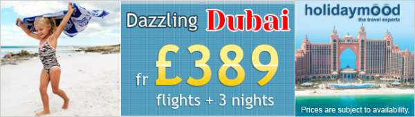 Book cheap flights to dubai with holiday mood uk