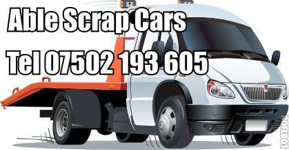 Scrap car companies warwickshire free collection
