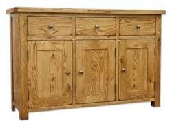 Hereford chunky rustic oak furniture