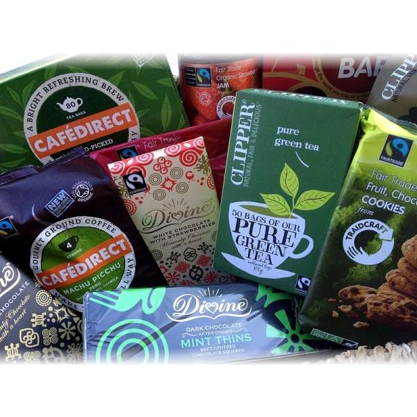 Fabulous collection of fairtrade certified food & drinks ? discount available!