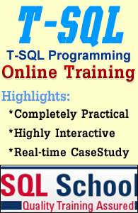Live online training on sql server 2008 & 2012