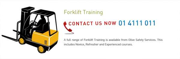 Choose forklift training in ireland