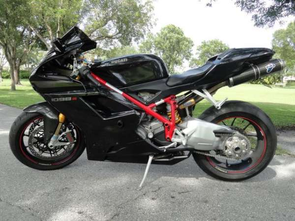 2008 ducati 1098 s 1197 miles for sale