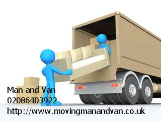 Pictures of Man and van mover house removal services in richmond 1