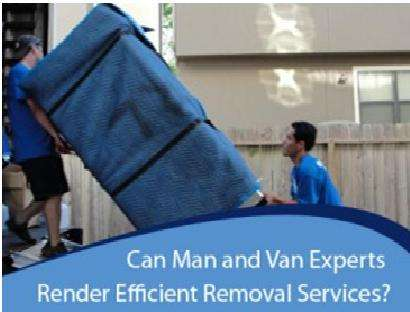 Pictures of Man and van mover house removal services in richmond 3