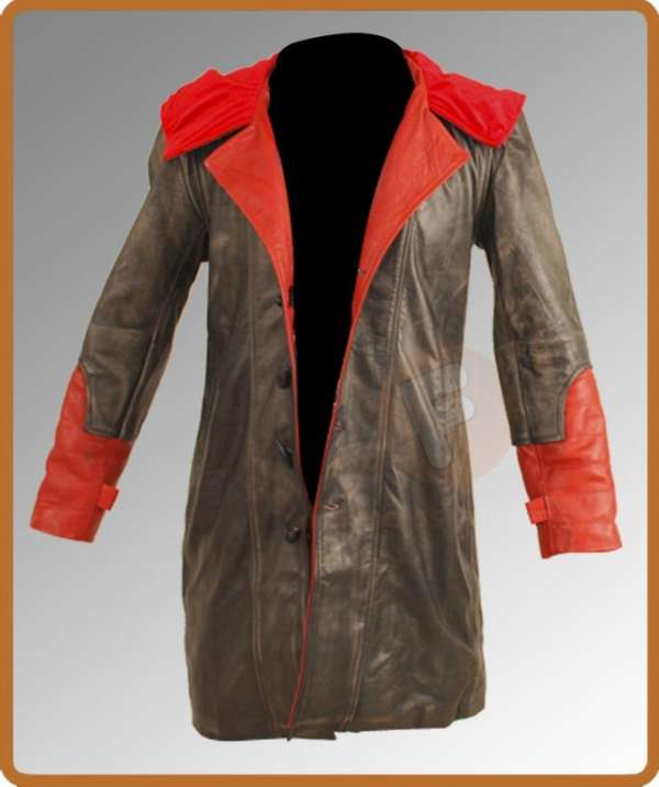 Devil may cry 4 dante leather jacket