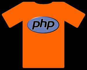 Learn php the easy way with the t-shirt metaphor