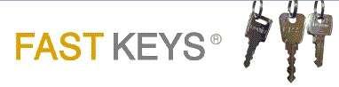 Rapid, precision key cutting through fast keys