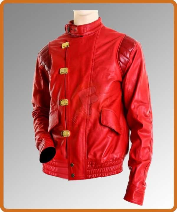 Exclusively akira capsule leather jacket