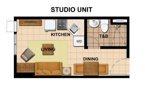 Pictures of Prime studio condo for sale in quezon city 9