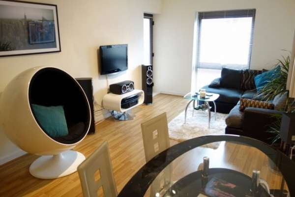 A modern one bedroom flat to rent in glasgow city center