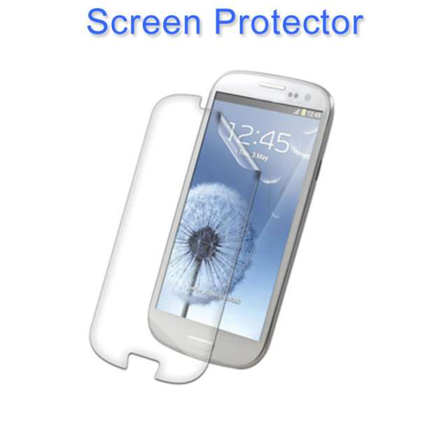 Pictures of Soft tpu silicone gel back case cover for samsung galaxy s3 +stylus+ data cable 5