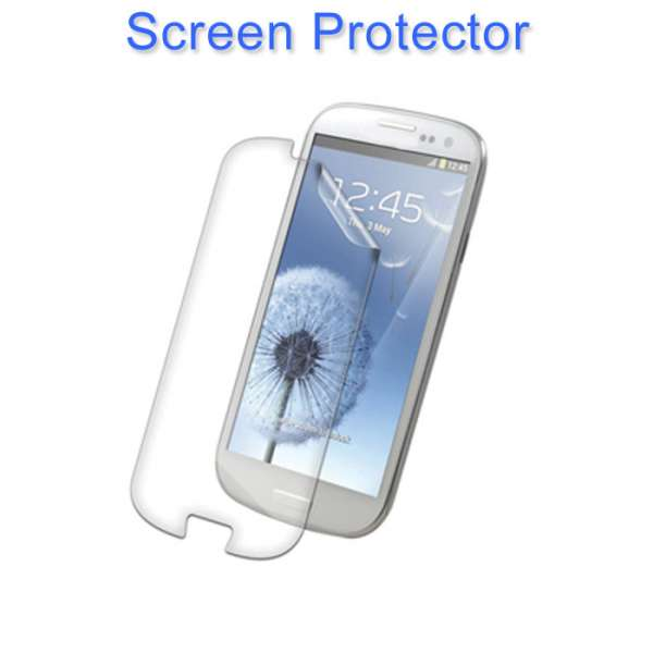 Pictures of Soft tpu silicone gel back case cover for samsung galaxy s3 +stylus+ data cable 2