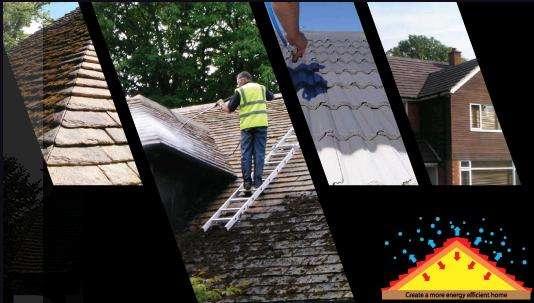 Cleaning roof tiles in birmingham, united kingdom