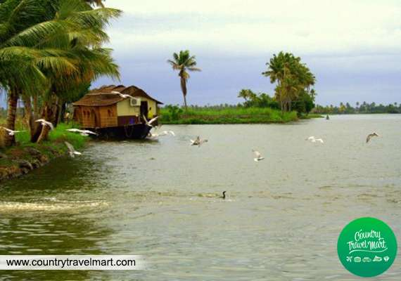Kerala backwater packages by country travel mart
