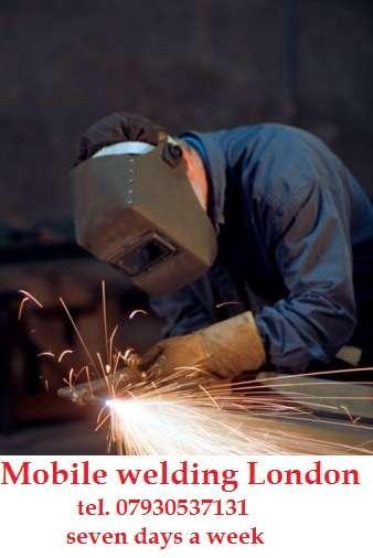 Mobile welding east london. north london. docklands, city, islington, camden, kingscross
