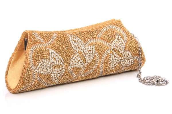 Women traditional bridal evening clutch bag