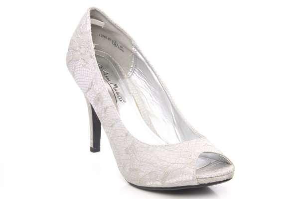 Women high heel open toe slip on court shoes with stilleto heel