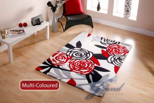 Pictures of New jazo modern floral floor carpet area rug 2