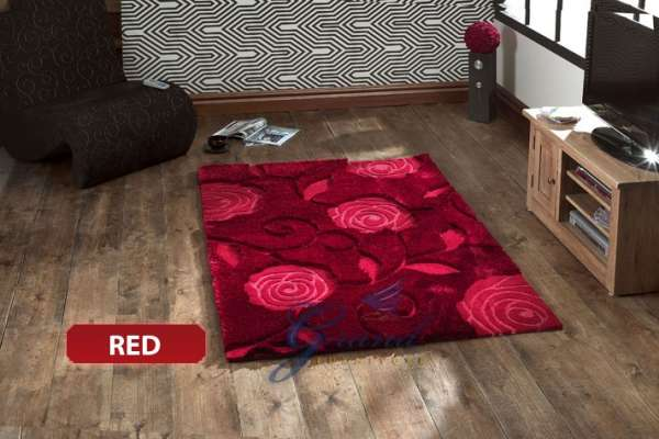 New jazo modern floral floor carpet area rug