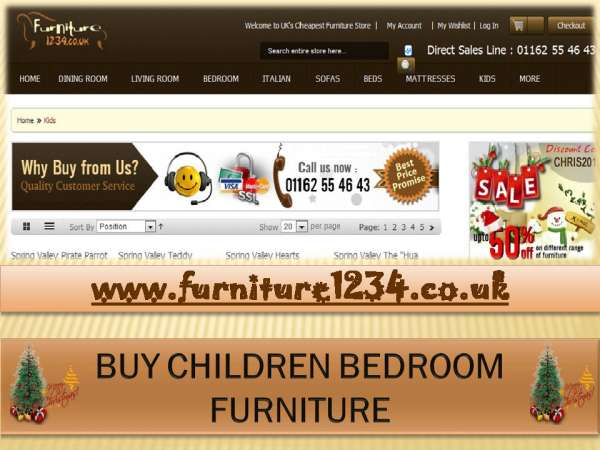 The one stop shop for bedroom furniture online is furniture 1234