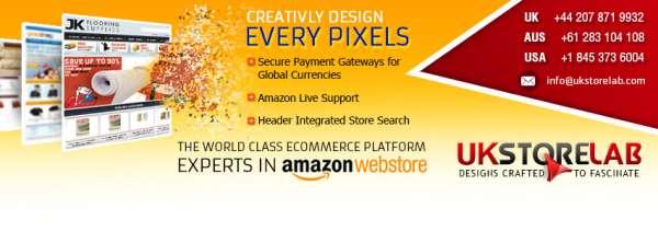 Amazon web store developer in london