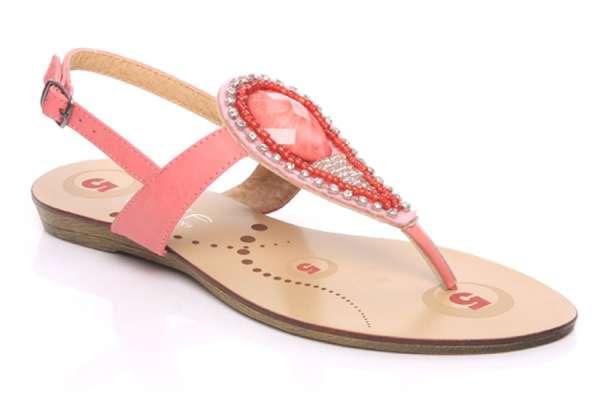 Buy online women casual flat sandals