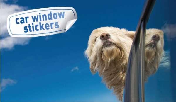 Car window stickers   car window stickers uk