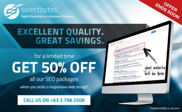 Responsive web design w/ 50% off seo services
